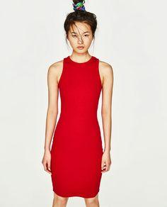 Image 2 of RIBBED DRESS from Zara