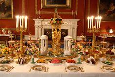 Attingham Park,Shropshire, England. Dining Room
