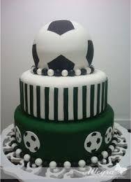 Resultado de imagem para bolo falso de EVA de futebol