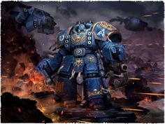 Ultramarine Devastator Centurion