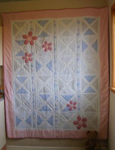 Recycled 'Dad's Shirt' Quilt : Elizabeth's Kitchen Diary - lovingly made from Dad's old shirts
