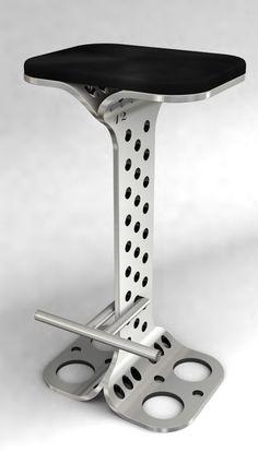 super industrial stool...!