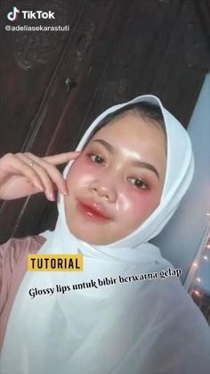 Hijab Makeup, Skin Makeup, Beauty Makeup Tips, Beauty Skin, Lip Care, Body Care, Simple Makeup, Natural Makeup, Skincare For Oily Skin