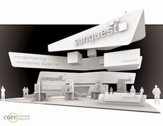 Core Design Group Blog - the freelance exhibit design blog: Sunquest 60' x 60' Island Exhibit: HiMSS