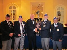 "LifeWave Advisory Board Member, Thomas Burke, accepting the ""Distinguished Service Award"" from the Florida Department of Military Order of the Purple Heart for his work with Veterans."