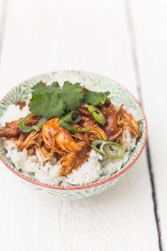 Kuřecí Teriyaki v pomálem hrnci – Kucharinka. Slow Cooker, Ethnic Recipes, Food, Essen, Meals, Crock Pot, Yemek, Eten