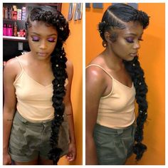 30 Butterfly Braid Styles Butterfly braids are very elegant, making them a popular choice for weddings and special occasions. Take a look at these 30 stunning butterfly braid styles. Black Girl Braids, Braids For Black Hair, Girls Braids, Box Braids Hairstyles, Curly Hair Styles, Natural Hair Styles, Butterfly Braid, Pelo Afro, Box Braids Styling