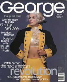 halloween magazine covers | ... whole thing is a rip off of the Cindy Crawford George Magazine cover