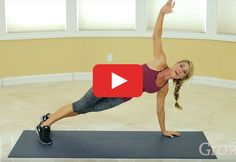 In 10 minutes flat, Grokker trainer Jaime Mcfadden leads you through a series of basic yet challenging low-impact moves for 45 seconds each, followed by 15 seconds of active rest that works your core #core #workout http://greatist.com/move/low-impact-hiit-workout