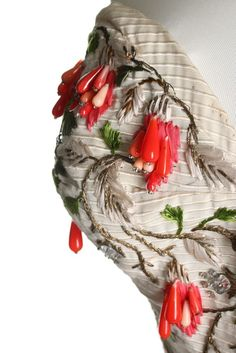 A Pierre Balmain couture ball gown, Spring-Summer, 1954
