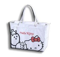 Hello Kitty Strawberry Tote Bag