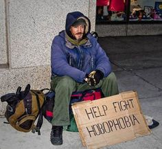 Homeless hobophobia