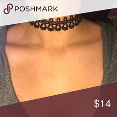 Crochet Choker Nickel and lead free. Brand new with tags Ashlee Natalia Jewelry Necklaces