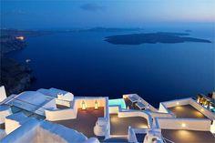 HOTELS TO VISIT BEFORE YOU DIE (PART 6 - GREECE)   Katikies   Santorini, Greece