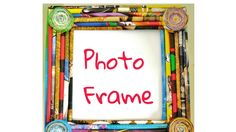 How to make photo frame from newspaper|best newspaper craft ever