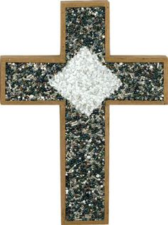 DIY beaded cross ornament and other christian craft projects