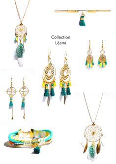 Collection LEANA Créateur -Bijoux ENORA-
