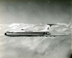 East African Airways ('EAA') Vickers Super VC10 (Series 1150) 5X-UVA (c/n: 881).