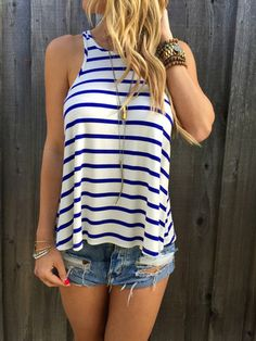 City Stripes Tank