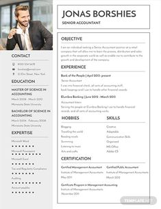 Free Professional Banking Resume Template If you like this design. Check others on my CV template board :) Thanks for sharing! Cv Templates Free Download, Creative Cv Template, Cv Design Template, Free Professional Resume Template, Resume Template Examples, Resume Template Free, Professional Cv, Resume Ideas, Adobe Indesign