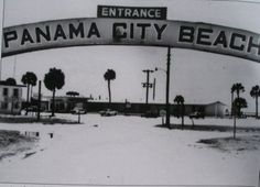 The Old Days Of Pc Panama City Florida Beach Vintage