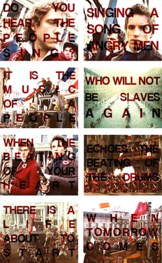 Yes!!!! #ToTheBarricades #LesMis ----> VIVE LA FRANCE! VIVE LA REVOLUTION!