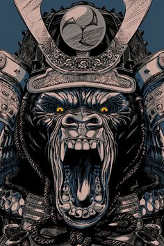 Animal Samurai Asesino on Behance