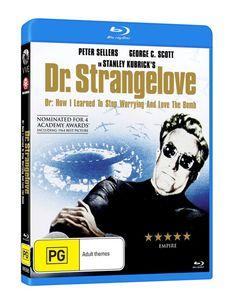 Australia! We're giving away Blu-ray copies of Stanley Kubrick's classic dark comedy DR STRANGELOVE!