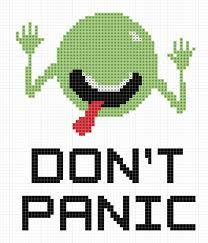 Hitchhiker's Guide to the Galaxy - Don't Panic