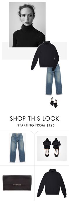 """/"" by darkwood ❤ liked on Polyvore featuring Simon Miller and bows"