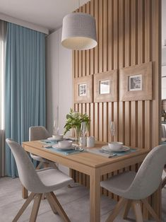 Small Dining Room Design Ideas Apartment Therapy - home design Kitchen Interior, Interior Design Living Room, Living Room Decor, Small Room Interior, Small Room Design, Dining Room Design, Dinning Room Ideas, Inside Design, Interior Modern