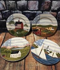 1999 America The Great 4 Piece Decorative Plate Set 8 1/4 Inch Diameter Sakura & BEAUTIFUL CHRISTMAS DECORATION PLATE SET OF 4 | ebay | Pinterest