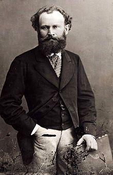 Édouard Manet, photograph by Félix Nadar