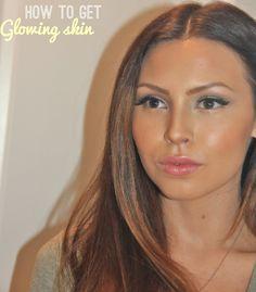 The perfect glowing skin tutorial/ Makeup Blog