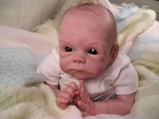 "Joey by Tasha Edenholm Unpainted Reborn doll kit  Approx 19""Paint your own baby"