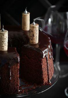 Chocolate Red Wine Chiffon Cake Recipe on Yummly Chocolate Chiffon Cake, Best Chocolate Cake, Chocolate Recipes, Just Desserts, Delicious Desserts, Bolo Chiffon, Cake Recipes, Dessert Recipes, Let Them Eat Cake