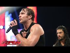Dean Ambrose & Roman Reigns address Seth Rollins' betrayal: Raw, June 9, 2014 - YouTube