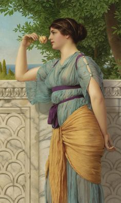 Memories - John William Godward  1891