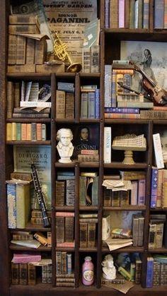 Miniature music libraries