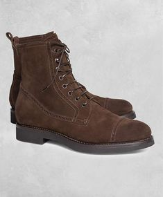 d430210341d Brooks Brothers Golden Fleece Suede Boots