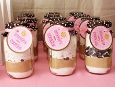 cookies in a jar party favor!