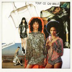 Pour clôturer notre série tendances de l'été, rien de tel que d'aller danser ! TOUT CE QUI BRILLE est le bienvenu et cela durera sur l'hiver :) le bowling en mon beau miroir est une valeur sûre ! Dansez maintenant ! #maisongaja #fashion #paris #model #danse #bags #bag #lhumeurdelooky #lesacdemesreves #lesacquisourit #joie
