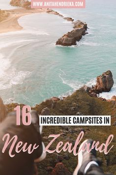 Want to know the most beautiful campsites in New Zealand? Here 16 beautiful places to visit in in New Zealand.  From the North Island, South Island, Wanaka, Queenstown and more! New Zealand nature and landscapes are some of the most beautiful travel destinations in the world. If you are going on a New Zealand road trip or New Zealand campervan trip then click to check out the post… #newzealandtravel #newzealandguide #newzealandbucketlists #newzealandcamping Travel Tips, Travel Destinations, Travel Abroad, Budget Travel, Travel Ideas, Travel Inspiration, New Zealand Itinerary, New Zealand Travel, Beautiful Places To Visit