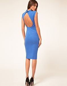 Discover the latest fashion and trends in menswear and womenswear at ASOS. Shop this season's collection of clothes, accessories, beauty and more. Nice Dresses, Dresses For Work, Amazing Dresses, Love Blue, Every Woman, Latest Fashion Clothes, Asos, Backless, Cute Outfits