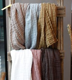 french linen scarves, alder & co.