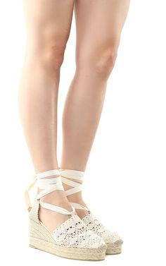 CASTAÑER   Castañer Castañer Campesina Canvas Wedge Espadrilles #Shoes #Flat Shoes #CASTAÑER