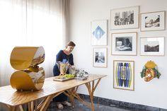 Reserva table // mesa Reserva // project by DIPTICO // photo Julia Ribeiro