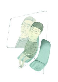 "Ilustraciones basadas en el libro de Haruki Murakami ""después del terremoto""  Artwork based on the book by Haruki Murakami ""after the quake"" Haruki Murakami, The Book, Cinderella, Disney Characters, Fictional Characters, Disney Princess, Art, Book, Illustrations"