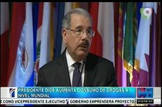 El Presidente Medina Está Preocupado Por El Aumento De Consumo De Drogas