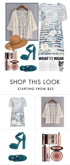 """""""SheIn contest"""" by partoffashion ❤ liked on Polyvore featuring Open End, Schutz, Charlotte Tilbury and Steve Madden"""